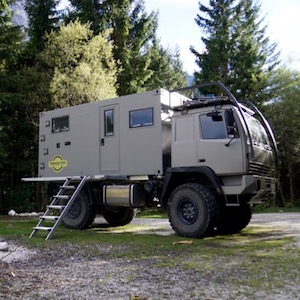 Overland vehicle | Expedition Truck from Terratrotter