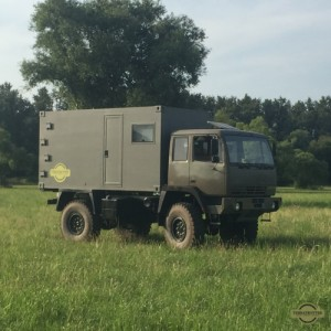 Expedition vehicle - STEYR12M18 truck - Terratrotter