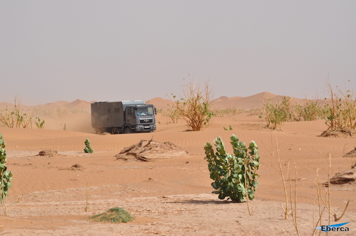Eberca MAN Expedition-Vehicle in Dessert
