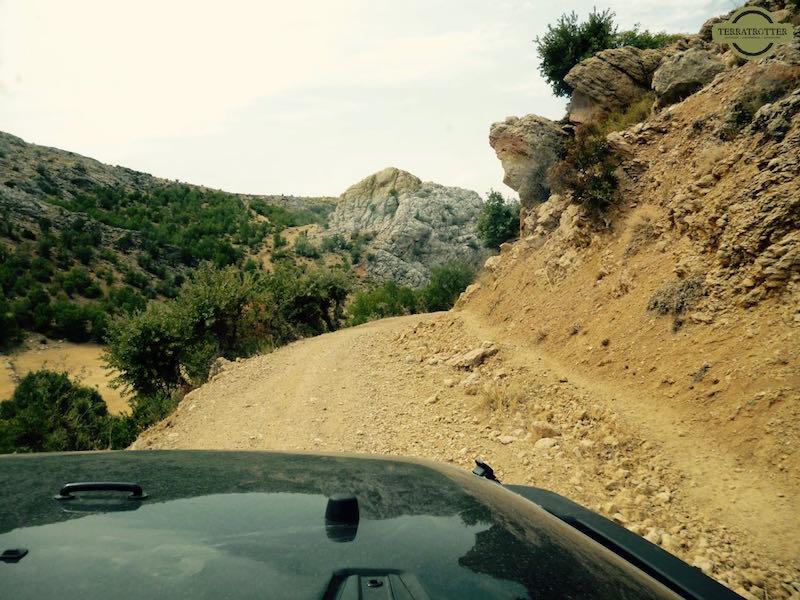 off-roading in Turkey