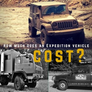 How much does an expedition vehicle cost?