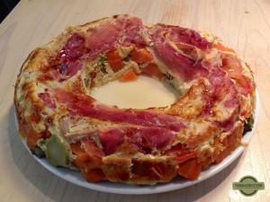 Omnia Oven - Silicone mold - Egg pie