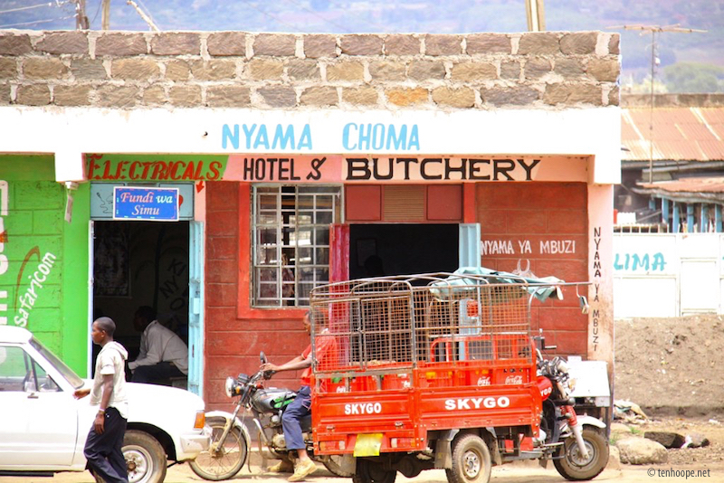 Overland travel - Shops in Africa