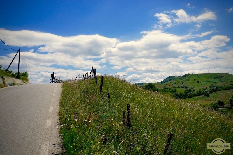 bike ride Romania