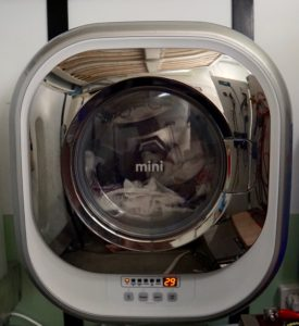 Daewoo-Mini-Washer-In use