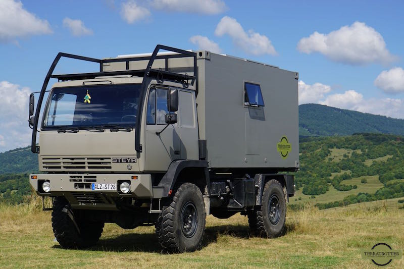 Left side of Expedition truck - Terratrotter