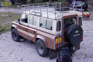 Land Rover Defender Original colors