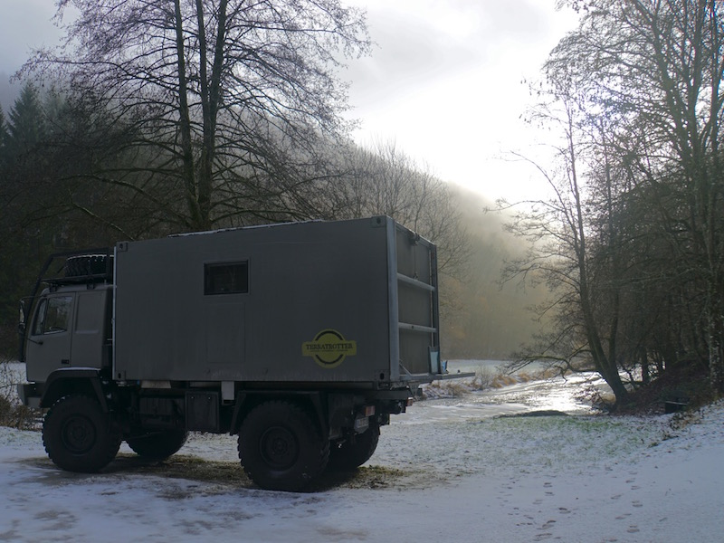 Expedition Truck Steyr in Luxembourg
