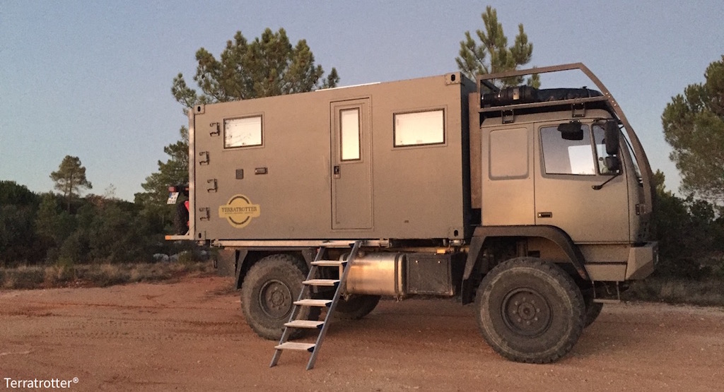 Build your own expedition truck | Terratrotter