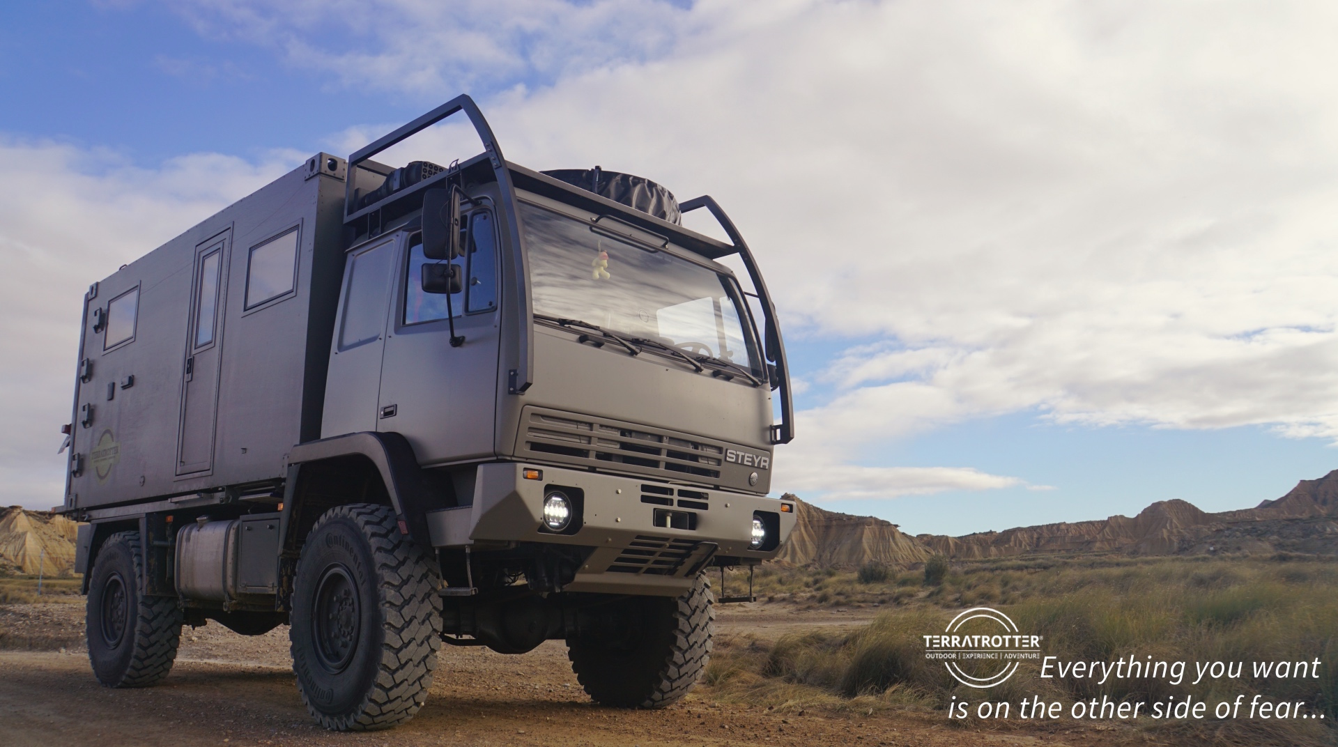 Build Your Own Expedition Truck Terratrotter