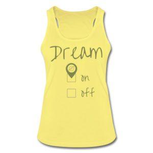 "Dream ""on""  Top | Terratrotter®"